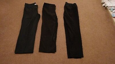 Maternity work trousers size 10 black 1 pair from Next