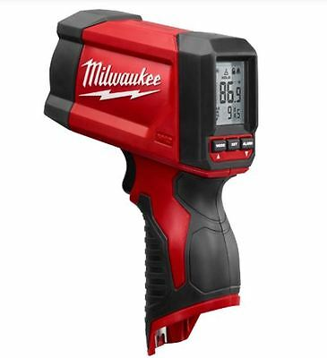 MILWAUKEE 2278-20 M12™ 12:1 Infrared Temp-Gun™ (BARE TOOL ONLY)