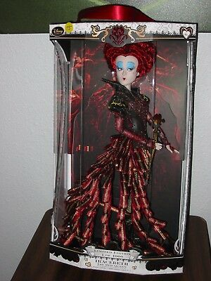 Disney Store Iracebeth The Red Queen Limited Edition Doll New 17 INCHES SHIPPER