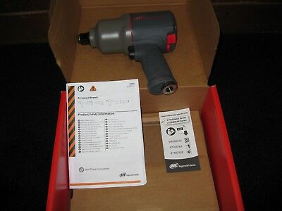 "Ingersoll-Rand 2145QiMAX 3/4"" Super-Duty Titanium Impact Wrench New in the box!!"