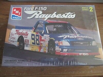 AMT Ertl #98 Ford F-150 Raybestos #8242 1/25 Scale Model Kit Nascar SEALED