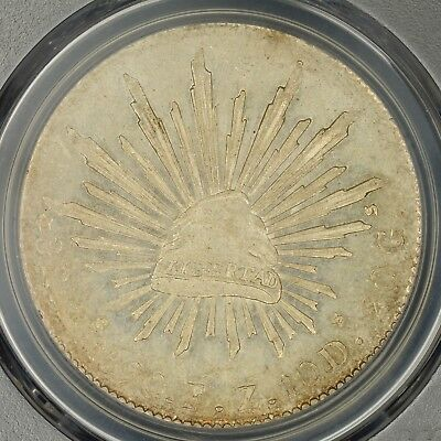 8 Reales 1890-Zs FZ PCGS MS63 Mexico Second Republic Silver Coin Choice UNC