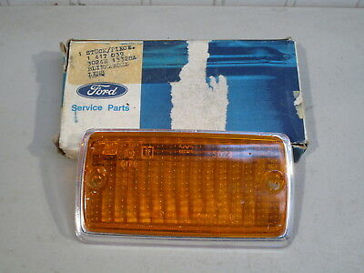 Nos 1969 Ford Cortina & 1971-1972 Mercury Capri Parking Light Lens...new In Box