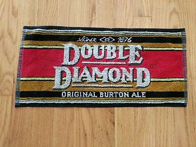 (Look) Double Diamond beer bar pub cloth towels game room man cave