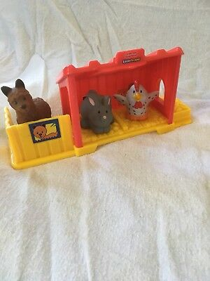 Fisher Price Little People Farm Animals And Shelters
