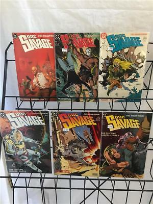 Doc Savage The Discord Makers 1-6 lot 1988