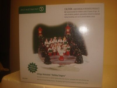 DEPT 56 Snow Village -  Village Animated Holiday Singers - #56.52505