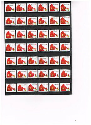 Canada  42  P Stamps  Uncancelled Postage  Lot # 5