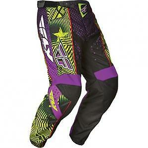 FLY RACING F-16 MX motocross YOUTH MX dirtbike kids pants size 24 waist 61cm