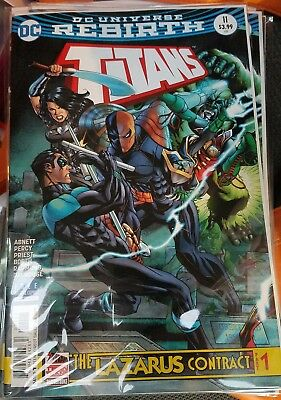 Titans 11 Lazarus Contract part 1 Abnett DC Rebirth 2017
