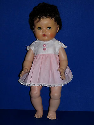 """1950's Tiny Tears Factory DRESS for the 15"""" Doll MINT DRESS ONLY for Sale!"""