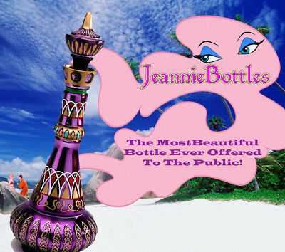 New Mirrored Rich Purple I Dream Of Jeannie/genie Bottle! *** Limited!!