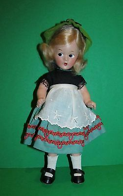 "RARE 1930's Alexander 9"" Wendy-Ann Tagged Swiss Doll Factory Pristine MINT!"