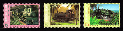 1994  Christmas Island Steam Locomotives (trains) MUH