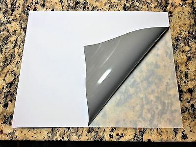 Combo - Inkjet BLOCKOUT matte vinyl/3M Laminate- 20 Pack (8.5in x 11in sheets)