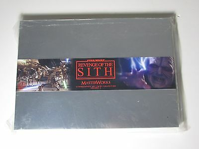 Star Wars Revenge Of The Sith Masterworks Art Print Collection Vol 2 In Tin Box