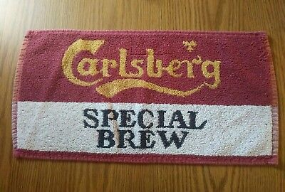 (Look) Carlsberg Beer bar pub cloth towel man cave game room