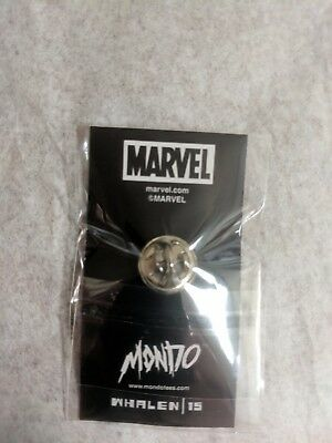 Mondo Tees Marvel Lapel Pin Limited Wolverine FIRST EDITION 15 x-men Tom Whalen