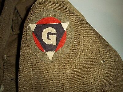 Wwi Ww1 Us Army 19Th Infantry Division Engineer Tunic Uniform Coat