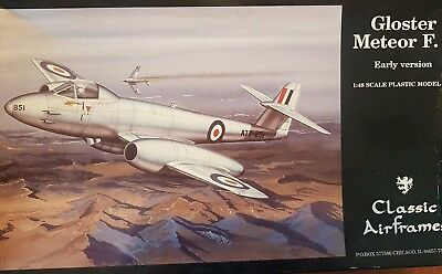 RAAF 1/48 Gloster Meteor F.8 Classic Air frames model aircraft