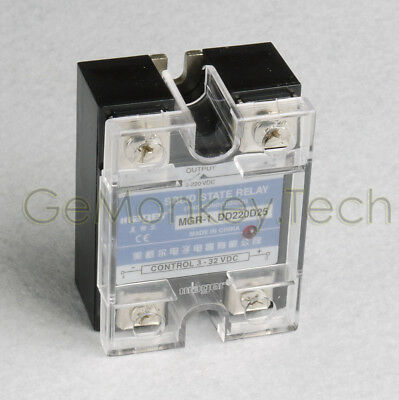 Generic New One Solid State Relay SSR DC-DC 25A 3-32VDC/5-220VDC 25A
