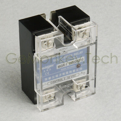Generic New One Solid State Relay SSR DC-DC 10A 3-32VDC/5-220VDC 10A