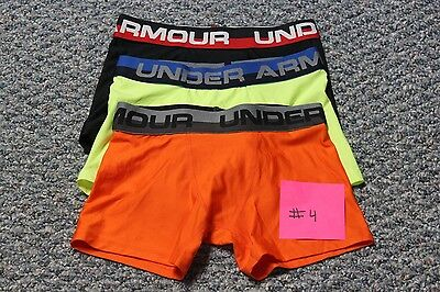 Under Armour Boys Original Boxerjock 3-Pack Size Youth Small #4
