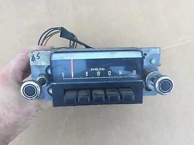 Used Philco AM Radio, 1969 1970 Ford Mustang OEM (C9zA  18806A) Working
