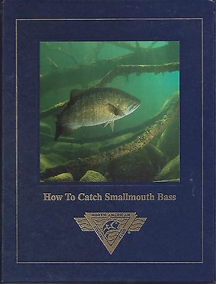 HOW TO CATCH SMALLMOUTH BASS Dick Sternberg HARDCOVER Fishing Book NEW NAFC Jig