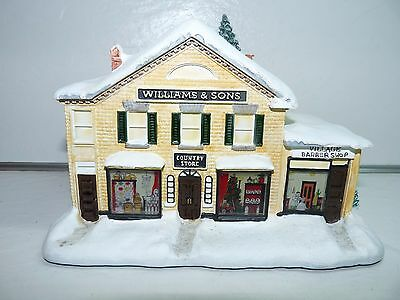 Hawthorne Village Norman Rockwell Williams and Sons Country Store Sculpture