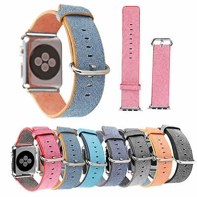 2016 Release Sports Royal Woven Nylon Strap Watch Band For Apple Watch iWatch