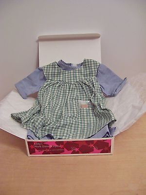 American Girl ADDY WORK DRESS & APRON New In Box