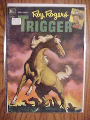 Roy Roger's Trigger #5- 1952 Dell Comic - Vg Condition