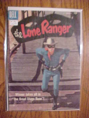The Lone Ranger #116 (Clayton Moore Cover- 1958 Dell  Comic - Vg Condition