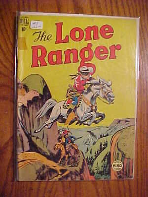 The Lone Ranger #9 -  1949 Dell  Comic - Poor To Fair Condition