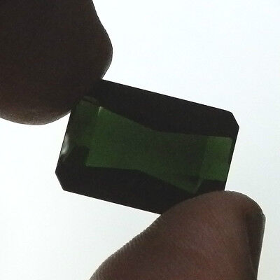Natural large green Tourmaline...26.6 Carat..with valuation of $9500.00