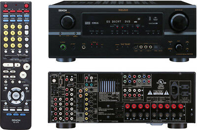 DENON AVR 2106 7.1 Channel 100 Watt Receiver WITH TOWER SPEAKERS**