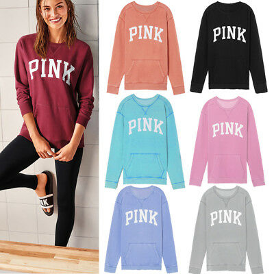 Women Casual Tops New T-Shirt Loose Fashion Blouse Cotton  Long Sleeve Hoodies