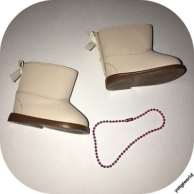 Pleasant Company American Girl 2010 Cozy Casual Boots Necklace Lot