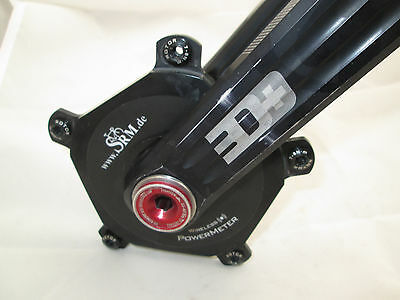 172.5mm SRM Rotor 3D+ 130BCD Ant+ Wireless PowerMeter Crank Only