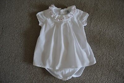 Baby Boys Girls Babidu White Shirt With Vest Under Size 2 Years 24 Months -£0.99