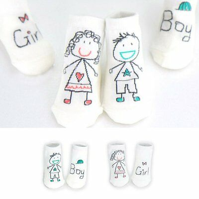 AU Baby Sock Boy Girl Cartoon Cotton Socks NewBorn Infant Toddler Socks 0-4Y