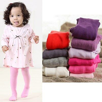 Baby Toddler Infant Kids Girls Cotton Warm Pantyhose Socks Stockings Tights 0-2Y