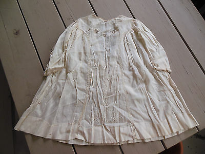 Antique 1911 Baby Dress Handsewn Tatting Embroidery from Kentucky