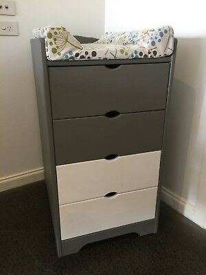 Baby Change Table Drawers - Mulgrave Vic
