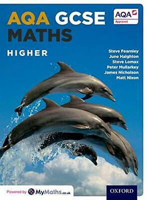 AQA GCSE Maths Higher Student Book by Nixon, Matthew Book The Cheap Fast Free