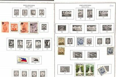Q340-Philippines Collection- Mint & Used