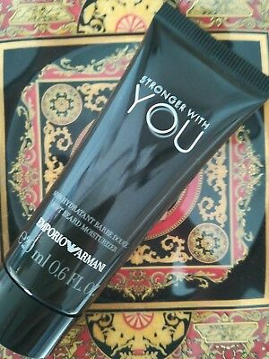 soin hydratant homme barbe Emporio Armani stronger with you 20ml