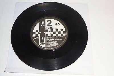 "ELVIS COSTELLO I CAN'T STAND UP FOR FALLING DOWN 1980 2 TONE 1st PRESS 7"" N/MINT"
