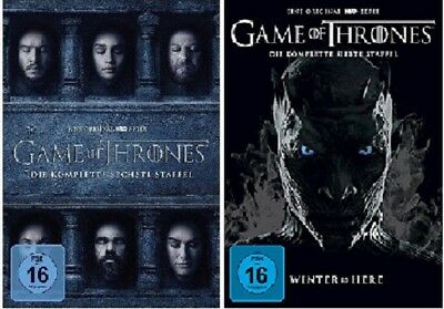 Game of Thrones Staffel 6+7 DVD Set NEU OVP